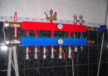 Монтаж гидроаккумулятора для систем водоснабжения